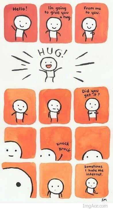 Een knuffel voor jou!
