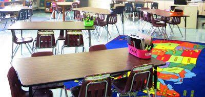 Tables vs desks classroom jobs desk arrangements and for Table vs desk