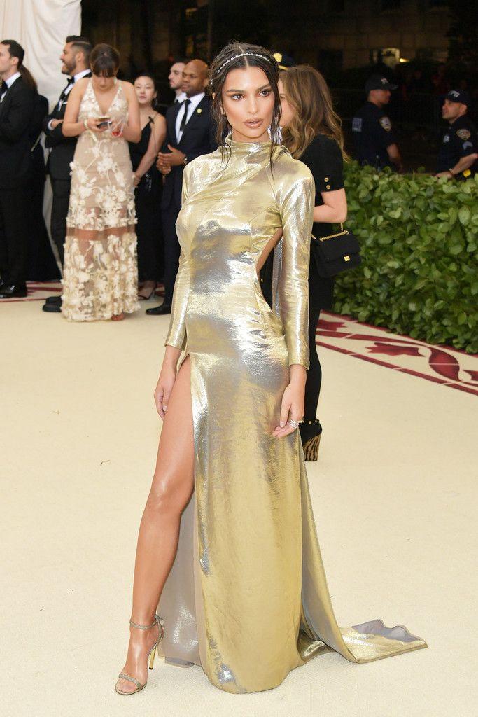 Emily Ratajkowski Gala Dresses Met Gala Red Carpet Met Gala