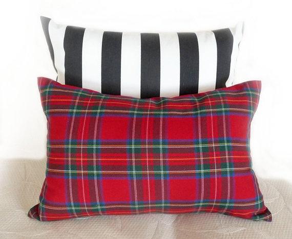 Red Tartan Plaid Throw Pillows : 139 best Plaid Pillows Tartan Cushions images on Pinterest Pillowcases, Toss pillows and ...