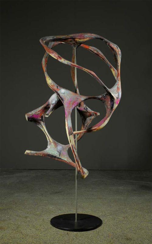 Wolfgang Flad. Menkar, 2010.Wood, mixed media, varnish,