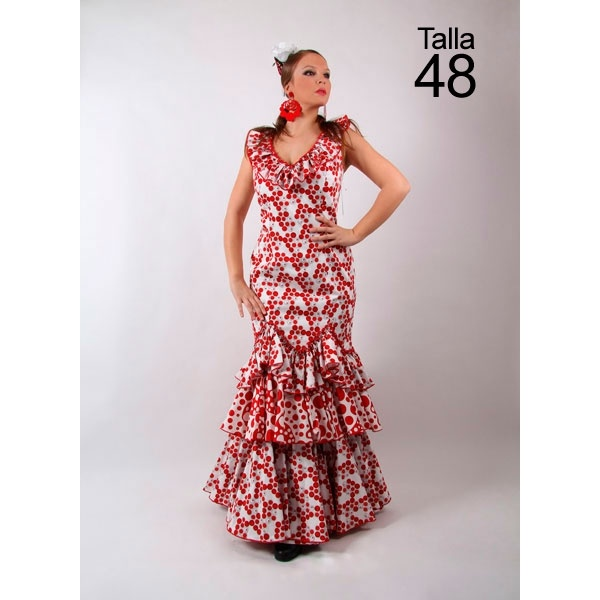 Woman's flamenco dress