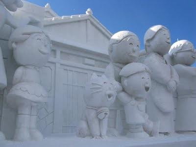 Sapporo Snow Festival + Snowboarding in Sapporo
