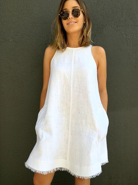 Make A Diy Linen Dress Perfect For Spring And Summer