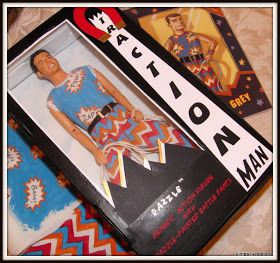 Kimber Kreations: Traction Man by Mini Grey and Laura K tutorial for creating the box and outfit!