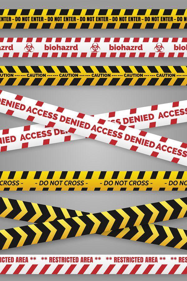 Danger Construction Tapes 942548 Illustrations Design Bundles In 2021 Construction Signs Editing Background Learning Design