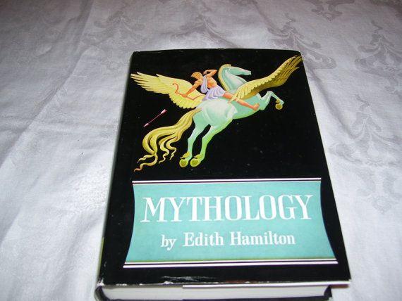 Mythology by Edith Hamilton 1942 HC/DJ Vintage