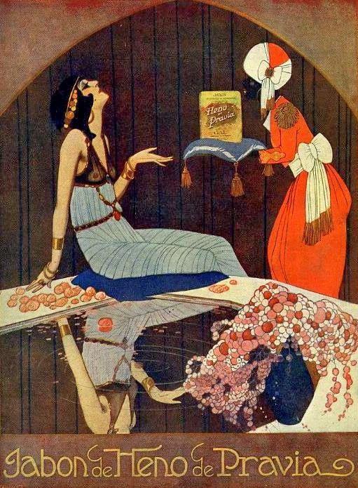 El Origen del Mundo: Carteles Publicidad Heno de Pravia 1900-1930