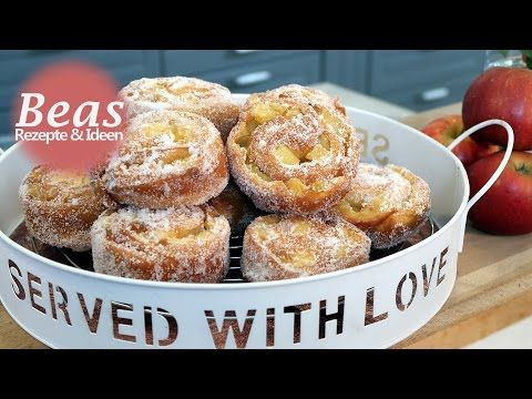PUDDINGTEILCHEN selber backen – Puddingbrezel Rezept - Plunderteig - YouTube