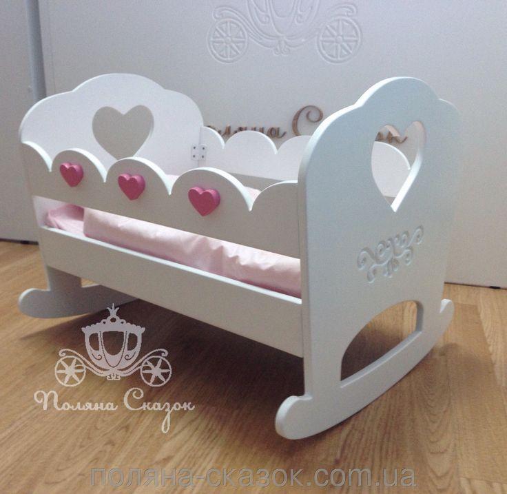 деревянная кукольная кроватка с балдахином - Поиск в Google