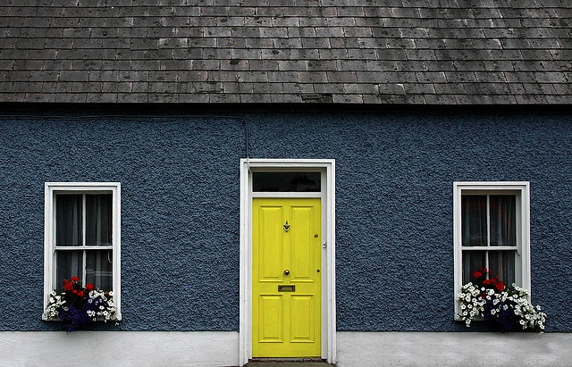 7 Best Images About Blue House Yellow Door On Pinterest