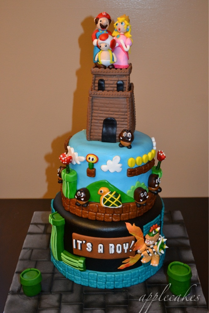 25 Best Baby Shower Mario Images On Pinterest 2nd Birthday