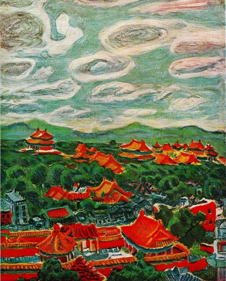 梅原龍三郎(日本)<1888 - 1986> Ryuzaburo Umehara(JPN)
