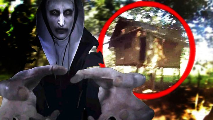 dirt bike lost in  plantation found creepy house fell valak conjuring 2 ...
