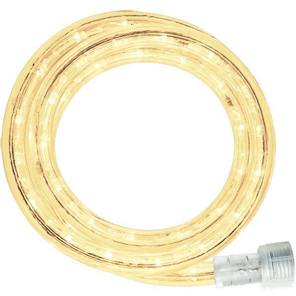 Led 12 Ft Rope Light Warm White Led 13mm Ww 12kit 1000bulbs Com In 2020 Rope Light Warm White White Lead
