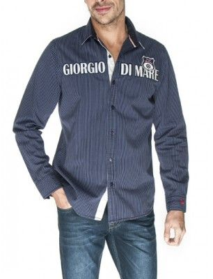 Giorgio di mare camisa | navy line