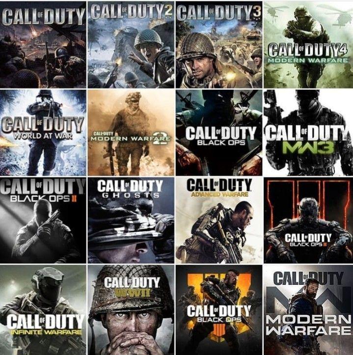 All Call Of Duty Call Of Duty World Call Of Duty Modern Warfare