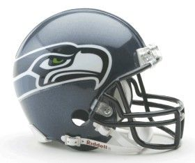 This Seattle Seahawks Replica Mini Helmet with Z2B Face Mask will look great on display in the game room, office, or den of any Seattle Seahawks fan or memorabilia collector.