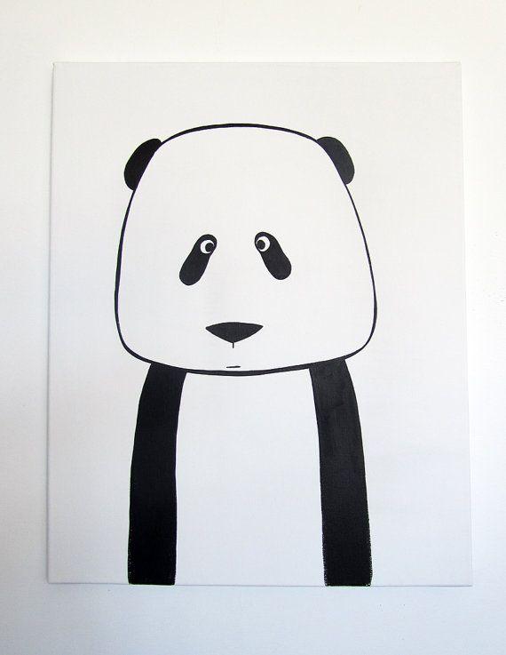 No 007  Modern Kids and Nursery Art Original by adrianeduckworth, $75.00