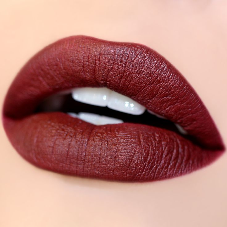 Feel fancy as fu** in this warm- tone blackened red in Matte X finish