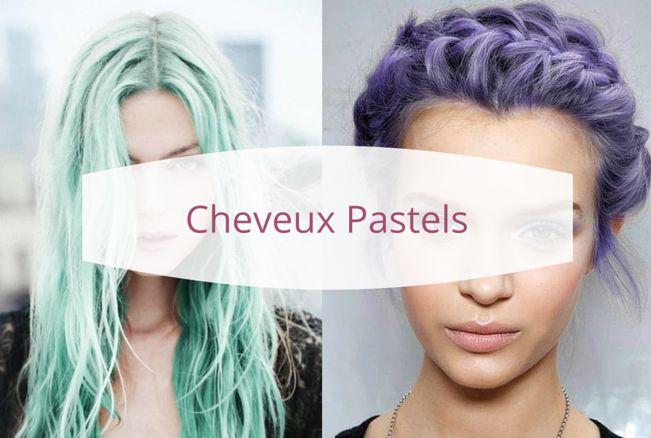 cheveux pastels cheveux pastel gris vert violet rose bleu blanc coiffure hair. Black Bedroom Furniture Sets. Home Design Ideas