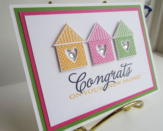 Congrats on Your New Home Card via Etsy