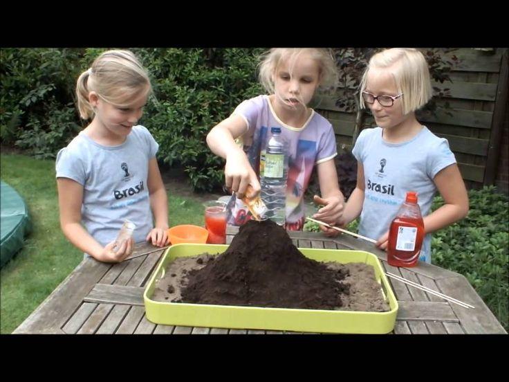 Vulkaan maken (groep 4)