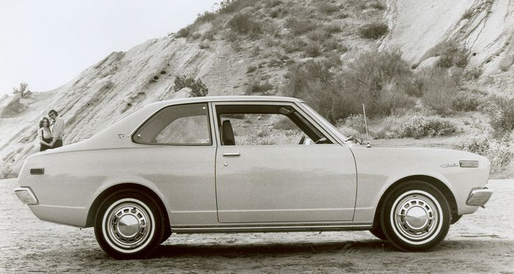 Toyota Carina. 1972