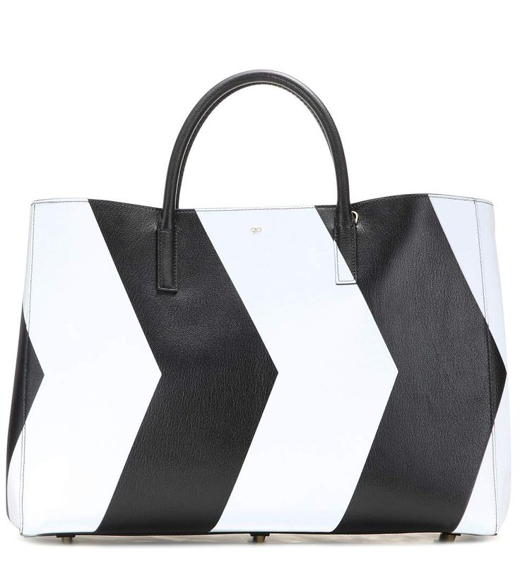 mytheresa.com - Borsa Chevrons Featherweight Ebury Maxi in pelle - Luxury Fashion for Women / Designer clothing, shoes, bags