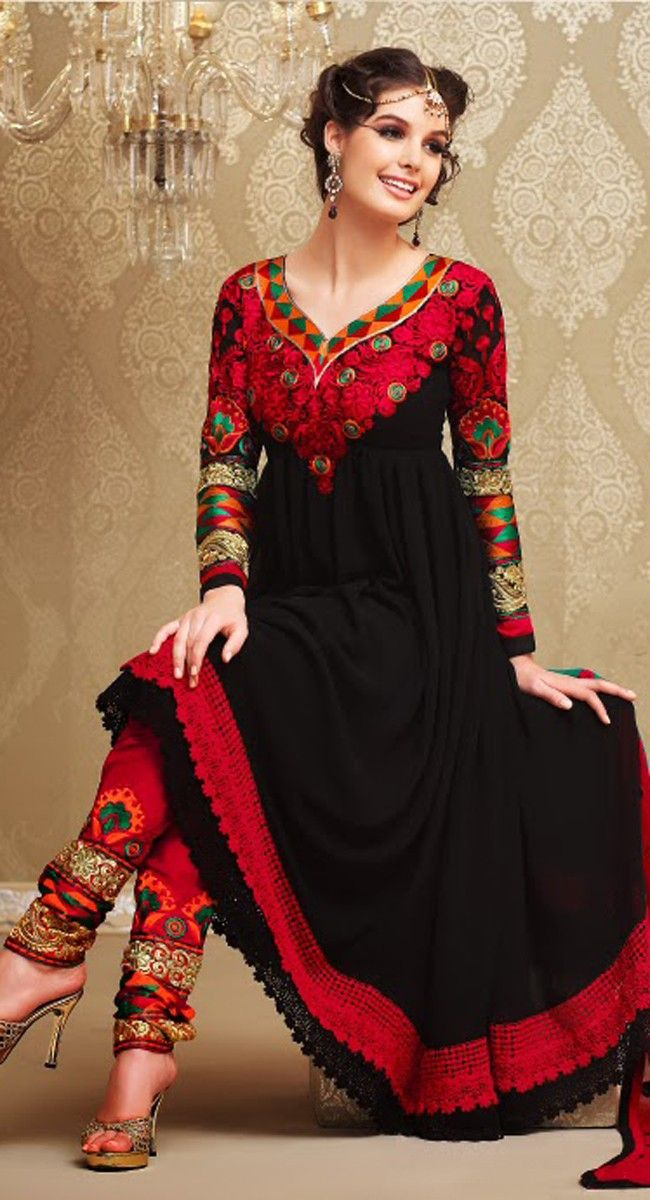 Fancy Black #Salwar #Kameez