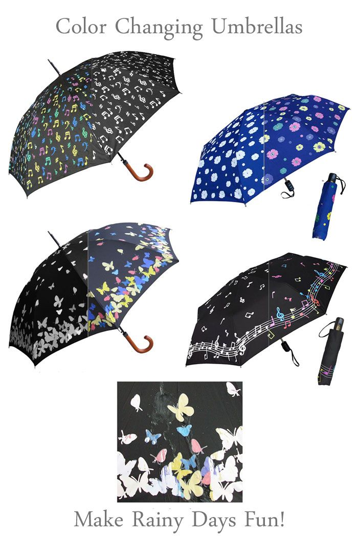 Changing Colors Of Rainy Afternoon In >> Color Changing Umbrellas Fine Art Umbrella Gifts To Brighten Up