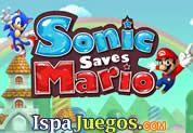 Juego de Sonic Saves Mario | JUEGOS GRATIS: Sonic tendra que salvar a su ami Mario bros, pero para ello tendrá que manejar un camión y llevar a mario al otro lado del camino, ten cuidado de no dejarlo tirado en el camino y acumula estrellas para poder tener mas puntos de salud