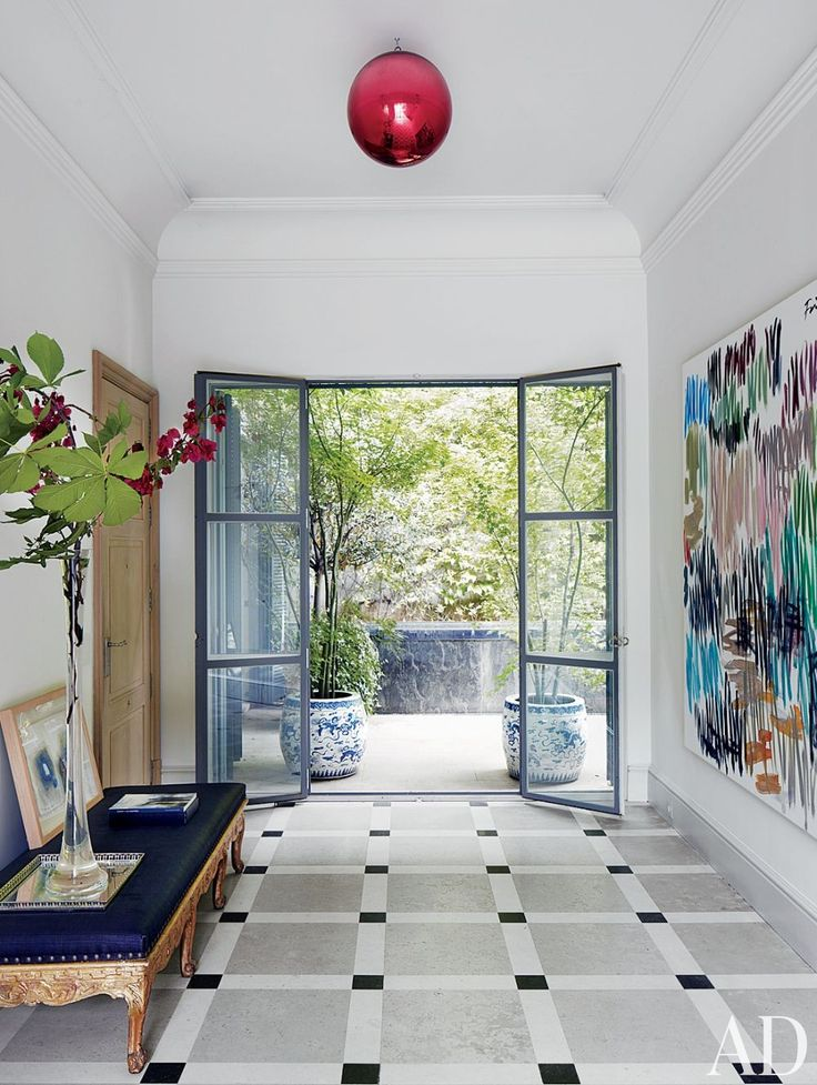 28 best entryway ideas images on pinterest entryway for Modern entrance hall ideas