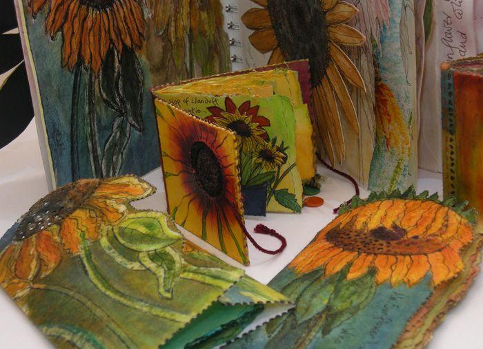 Frances Pickering 'Sunflower' sketchbooks and books