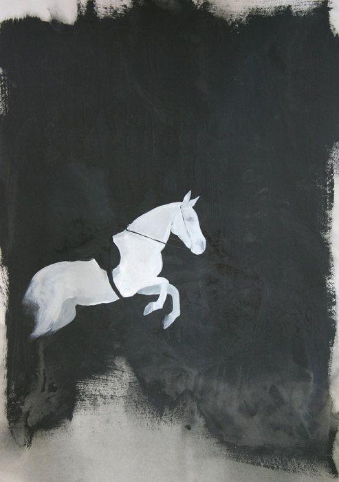equine art: Artsy Horse, Equine Painting, Art Idea, Art Prints, Equine Horse Art, Equine Art, Horses Riding ️