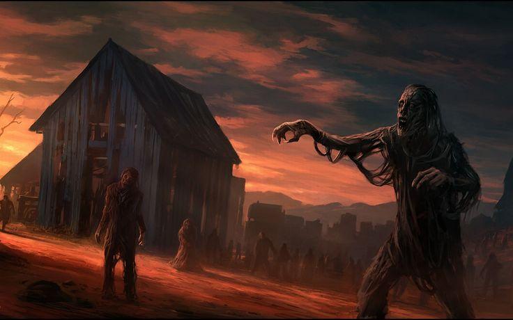 Zombie Barn Lot