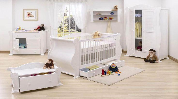 Transformar um quarto de bebê em um quarto de criança, o que fazer com os antigos móveis?