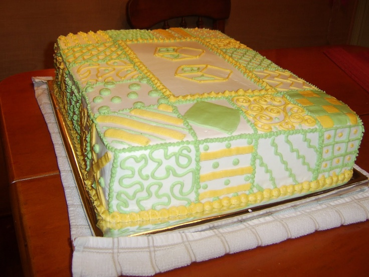 17 Best images about Quilt Cakes on Pinterest Cakes ...