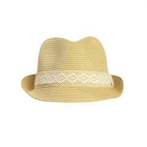 Sombrero borsalino de paja Image