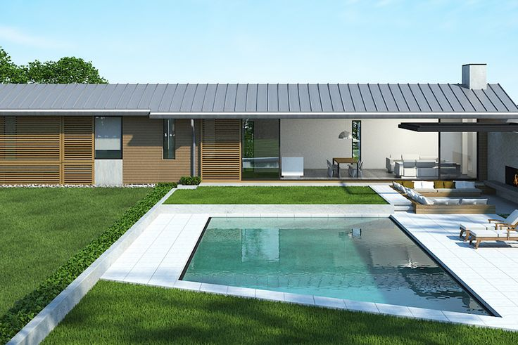 The layout of the Master Coolhouse provides decking the full length of one side of the building to deliver a perfect indoor outdoor lifestyle.