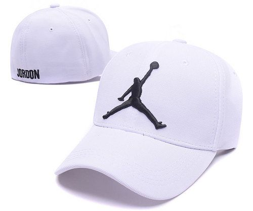 Jordan Stretch Fitted Baseball Caps White|only US$6.00 - follow me to pick up couopons.
