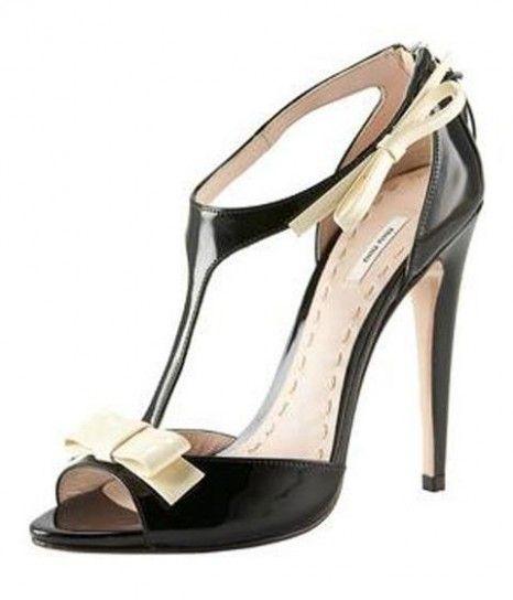Moda Bon ton: abiti e accessori - Moda bon ton sandali Miu Miu