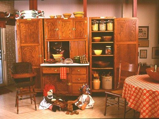 718 best hoosier cabinets images on Pinterest | Hoosier cabinet ...