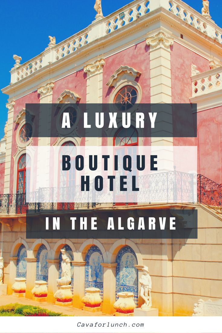 The Pink Palace in Estoi, Algarve Portugal, is a small luxury boutique hotel with beautiful gardens right next to Portugal's national park Ria Formosa.