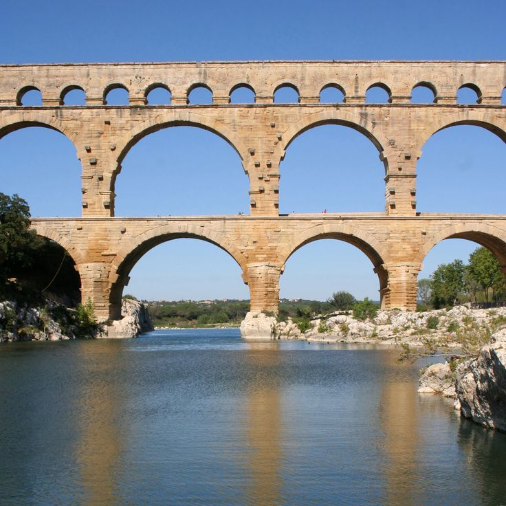 20 best images about historical engineering on pinterest for Pont du gard architecte