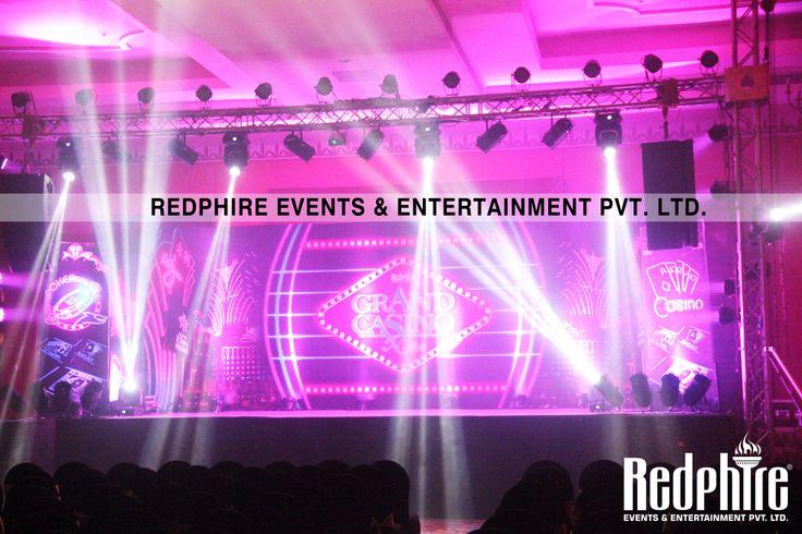 Beautiful Stage of Redphire Grand Casino Fun Nite