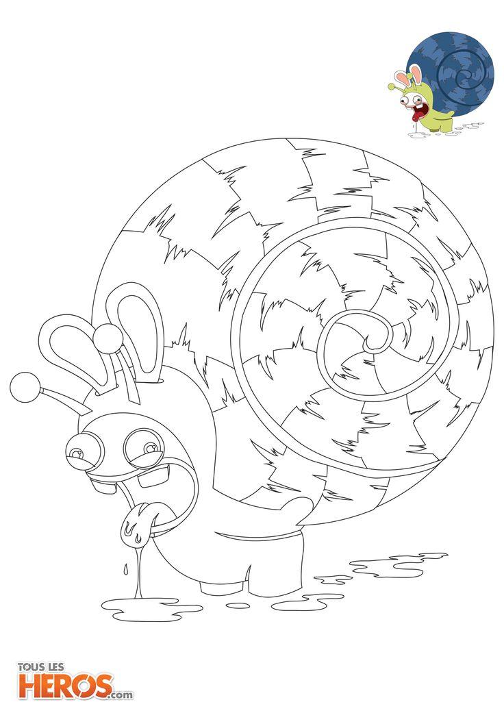 Coloriez les lapins cr tins avec touslesheros sur savingrabbits - Dessin cretin ...