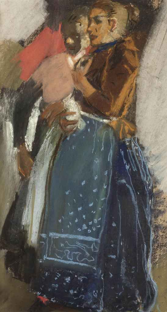 Two Waspitten by George Hendrik Breitner (1857-1923)