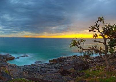 Sunrise at Noosa National Park - Queensland, Australia #SunshineCoast