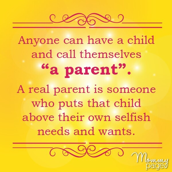 Parent Quotes To Daughter: Children DESERVE To Be With Their Biological Parents. For